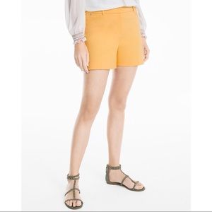 WHBM 5-Inch Coastal Stretch Shorts Size 8